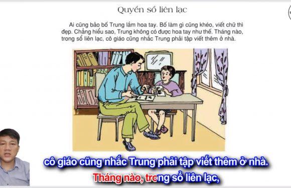 Quyển sổ liên lạc – Lớp 2 – Tuần 32 – Trang 119 – Tiếng Việt 2 tập 2