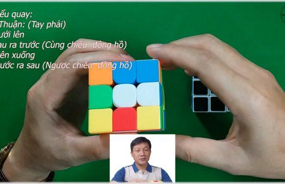 Cách giải Rubik 3 tầng chỉ bằng một cách xoay và các bước đơn giản dễ làm