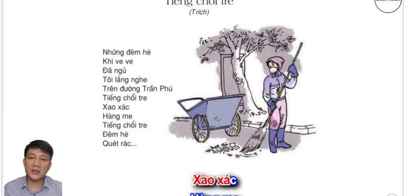 Tiếng chổi tre – Lớp 2 – Tuần 32 – Trang 121 – Tiếng Việt 2 tập 2